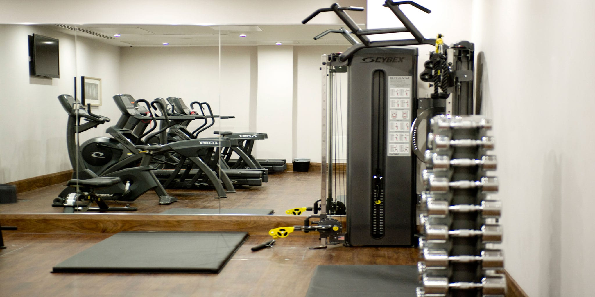 Gym at Clayton Hotel Birmingham