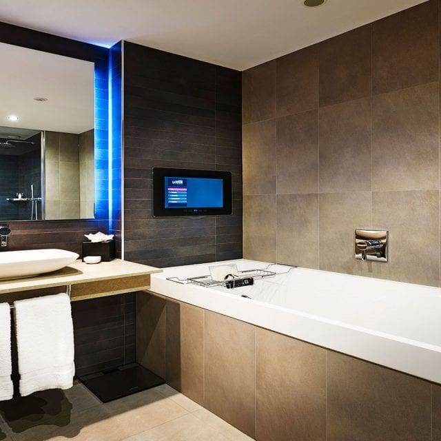 Superior Bathroom at Clayton Hotel Birmingham
